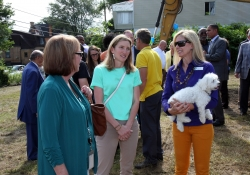 July 17, 2015: Senator Costa attends the Animal Rescue League Groundbreaking