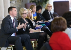 February 22, 2016: Sen. Costa Participates in a Roundtable Discussion at the University of Pittsburgh on Campus Sexual Assault Prevention