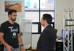 Senator Jay Costa Tours Thrill Mill Office & Thrival Music Festival :: September 24, 2015