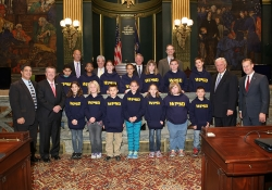 October 20, 2015: Western Pa School for the Deaf Visits the Capitol