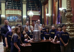WPSD Students Visit the Capitol :: October 25, 2017
