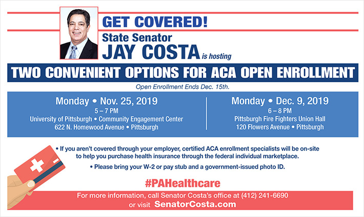 Affordable Care Act enrollment event