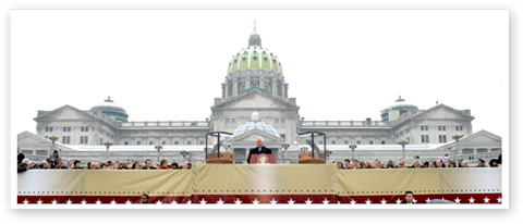 Inauguration Day -- January 18, 2011