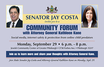 Community Forum on Internet Safety and Online Child Predators with Attorney General Kane