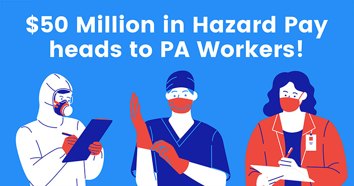 Hazard Pay for Front Line Workers