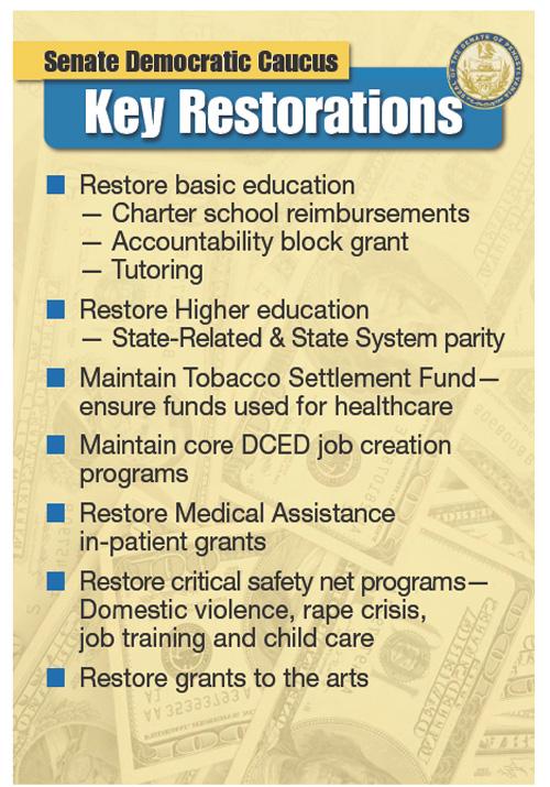 Key Restorations