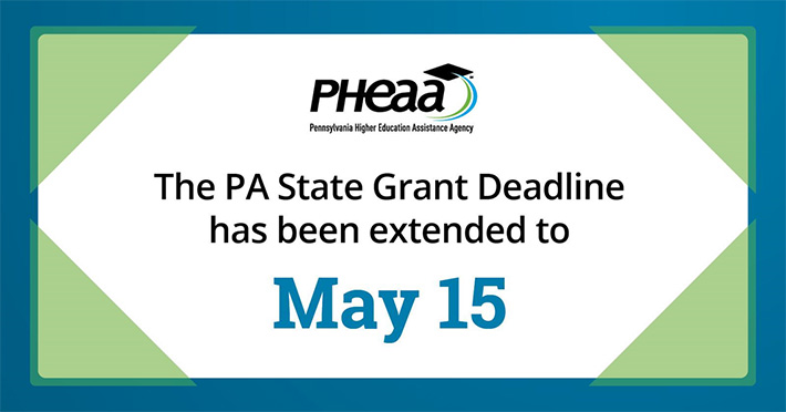 State grant deadline extended to May 15