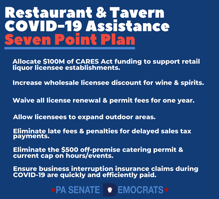 Assistance Proposal for Restaurants and Taverns Suffering Under COVID-19 Closures