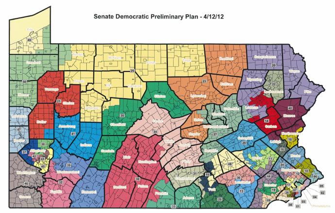 Senate Democratic Preliminary Plan