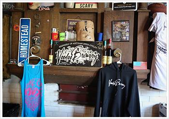 Sen. Costa tours Voo Doo Brewery in Homestead.