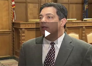 Senate Democratic Leader Jay Costa of Allegheny County remarks on how the agreement between Highmark and UPMC will impact the business community.