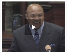 Watch Hines Ward Remarks on Senate Floor