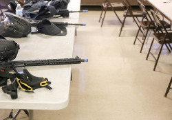 October 10, 2019: Mon Valley police departments come together for active shooter training, coordinated by the Turtle Valley Council of Governments.