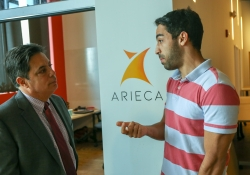 May 20, 2019: Sen. Costa meets with young inventors and entrepreneurs at AlphaLab in East Liberty.