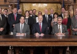 Bill Signing E911 Legislation :: October 19, 2016