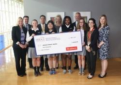 Bridge Educational Foundation Check Presentation at the Braskem Technology Headquarters :: May 3, 2017