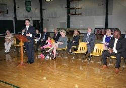 April 29, 2015: Senator Costa attends Bridge Educational Foundation to Present over $23,000 in Scholarship Money through Pa's Educational Improvement Tax Credit program.