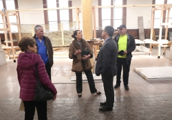 March 28, 2019:  Senator Costa tours the Dragon's Den in Homestead., formally St. Mary Magdalene Church.