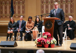 January 2, 2020: Senator Costa attends  inaugural ceremony for Allegheny County Executive Rich Fitzgerald.