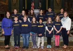 October 25, 2016: Western Pa School for the Deaf visits the capitol.