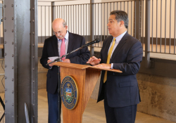 201909261September 26, 2019: Sen. Costa joined local officials at the ribbon cutting of Homestead Bakery Lofts.33524_IMG_0703