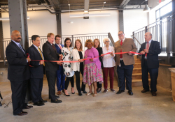 September 26, 2019: Sen. Costa joined local officials at the ribbon cutting of Homestead Bakery Lofts.