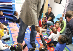 October 25, 2019: Sen. Costa helps celebrate the opening of the new Full-Day Pre-K classroom at the Hosanna House Child Development Center in Wilkinsburg.