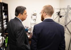 "October 19, 2018: Senator Jay Costa tours CapSen Rebotics as part of his ""In the 43rd"" tour."