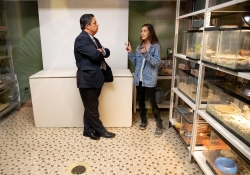 """October 19, 2018: Senator Jay Costa visits  Sara's Pets and Plants as part of his """"In the 43rd"""" tour."""