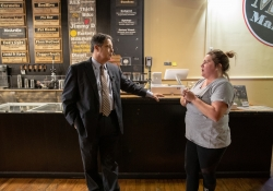"""October 19, 2018: Senator Jay Costa tours Fudge Farm as part of his """"In the 43rd"""" tour."""