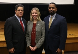 December 6, 2018: Senator Costa speaks at environmental protection event at the Pittsburgh Jewish Community Center in Squirrel Hill.