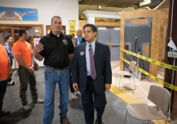 May 10, 2019: Senator Jay Costa attends KML Carpenters 19th annual open house and skills expo.
