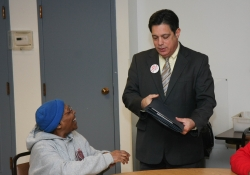March 9, 2015:  Senator Costa visits the Knoxville Senior Center