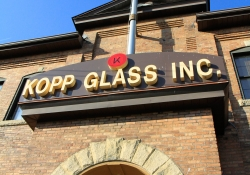 May 29, 2015: Senator Costa Tours Kopp Glass