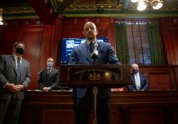 "May 12, 2021: Senate Democrats Introduce ""A New Deal for PA"""