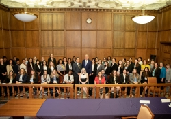 June 4, 2019:  Senator Costa speaks to the NEW Leadership class from the Center for Women in Politics at Chatham University.