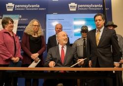 Governor Tom Wolf press conference on Renewal of Opioid Disaster declarationSenator Jay Costa (D-Allegheny)April 04, 2018.James Robinson | Pennsylvania Senate Democratic Caucus