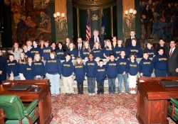 October 16, 2012: Western Pennsylvania School for the Deaf Visit State Capitol