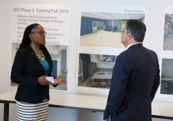 June 7, 2019: Sen. Costa tours the University of Pittsburgh Community Engagement Center in Homewood.