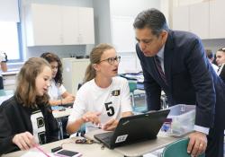 September 27, 2019: Sen. Costa Joins Gov. Wolf  to Tour Riverview Junior-Senior High School and Oakmont Bakery .
