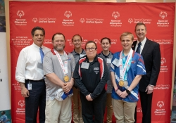 April 29, 2019: Senator Costa Participates in the Annual Special Olympics PA Unified Government Bocce Challenge.