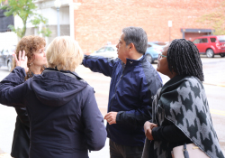 October 16, 2019: Sen. Costa joined Wilkinsburg Mayor Marita Garrett and local officials to discuss economic development efforts in downtown Wilkinsburg.