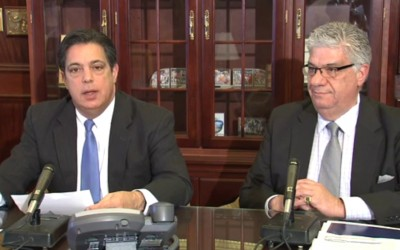 Costa, Fontana Call For Removal of ICA Director, Criminal Investigation