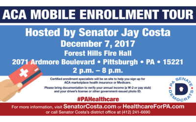 Senator Costa Hosts ACA Mobile Enrollment Tour