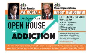 Open House on Addiction - September 13, 2018