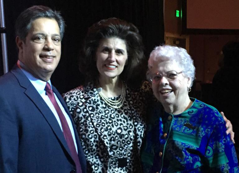 Joanne Rogers, Sen. Jay Costa