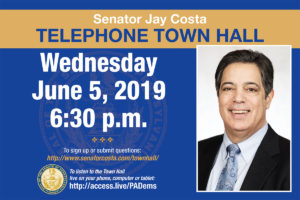 Telephone Town Hall - June 5, 2019