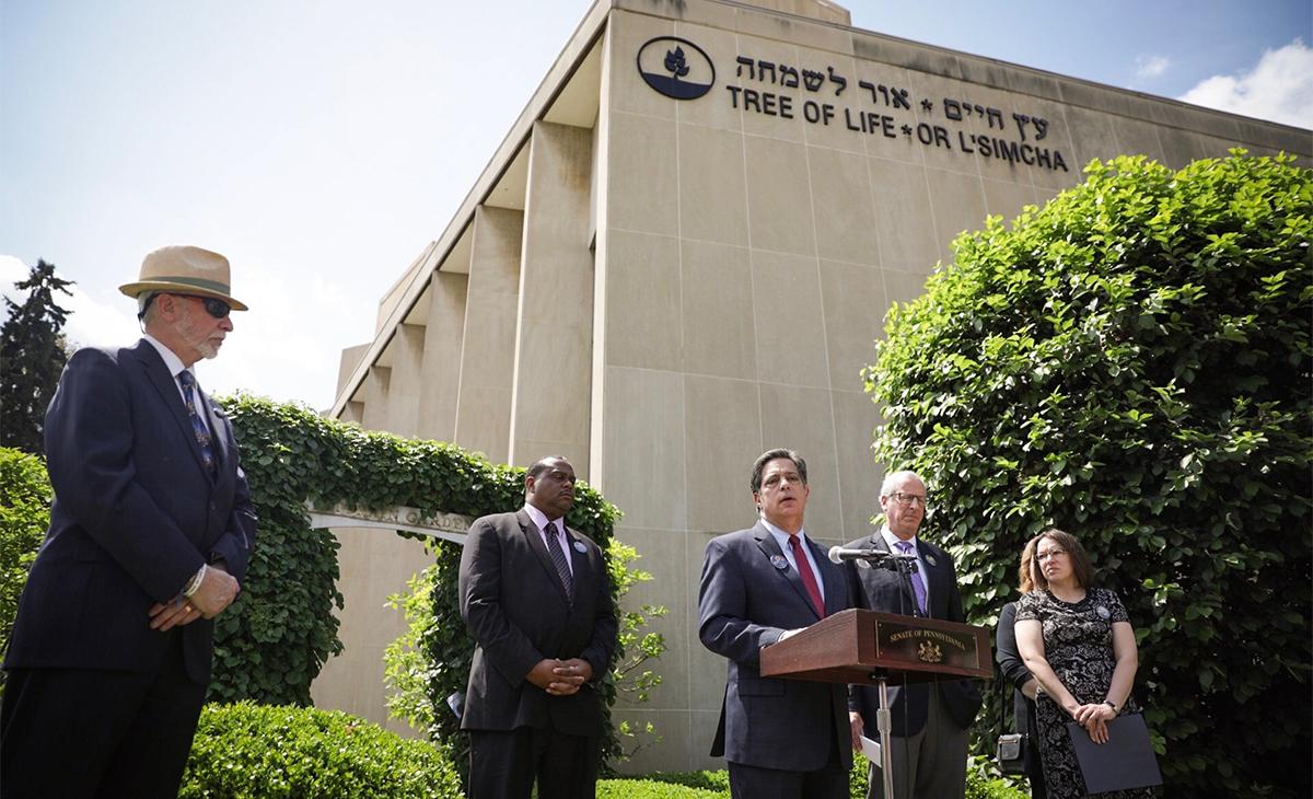 Senator Jay Costa Announces Legislation Addressing Hate Crimes