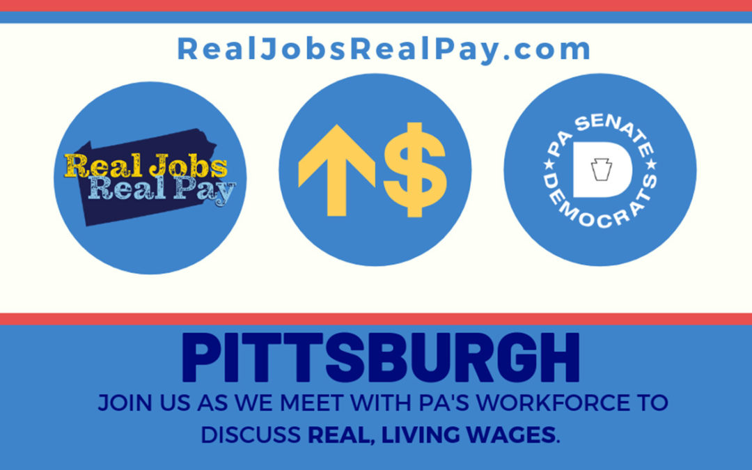 State Officials and Advocates Kick Off Real Jobs, Real Pay Tour