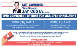 ACA Open Enrollment Events - 2019